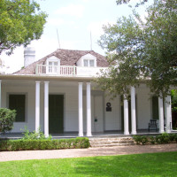 Austin Photo: Places_Arts_French_Legation_Museum_Exterior