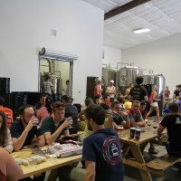 Buffalo Bayou Brewing Co., crowd, open house