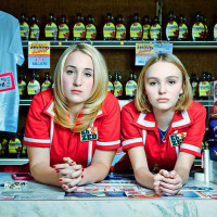Harley Quinn Smith and Lily-Rose Depp in Yoga Hosers