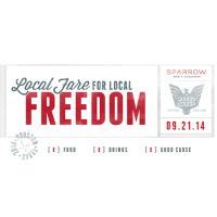 """Local Fare for Local Freedom"" benefiting A 2nd Cup"