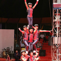 Miller Outdoor Theatre presents Phare Cambodian Circus: Khmer Village