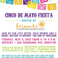 "Friends of DePelchin's ""Cinco de Mayo Fiesta"""