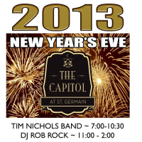 Capitol at St. Germain New Year's Eve Bash