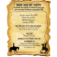 The Women's Fund Rodeo Kick-Off Party benefiting The Women's Fund