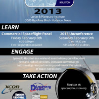 SpaceUp Houston Unconference & Commercial Spaceflight Panel