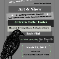 "Paper and Space presents ""Art & Show"""