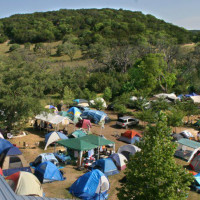 Austin Photo Set: arden_kerrville folk festival_may 2012_camping