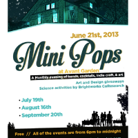 "Pop Shop Houston's ""Mini Pops at AvantGarden"""