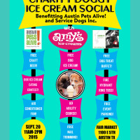 Charity Doggy Ice Cream Social with Amy's Ice Creams