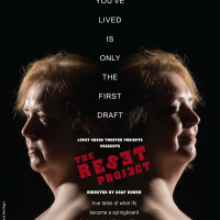 Reset Project poster at LuckyChaos Theater