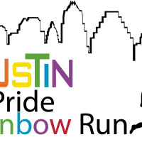 Austin Pride Rainbow Run 2013 graphic