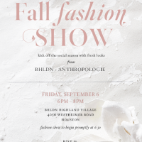BHLDN Fall Fashion Show with Anthropologie