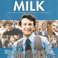 Poster for Gus Van Sant's Milk starring Sean Penn