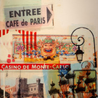 "painting ""Monte Carlo"" by Formula 1 artist Mark Dickens"