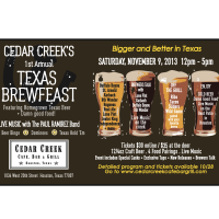 Houston Beer Week 2013: First Annual Brew Feast