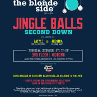 "The Blonde Side hosts ""Jingle Balls: Second Down"""
