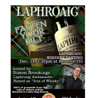 Laphroaig Scotch Tasting