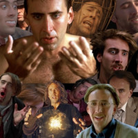 collage of Nicholas Cage in film roles
