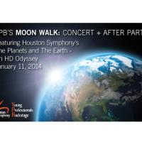 "Houston Symphony Young Professionals Backstage hosts ""Moon Walk"""