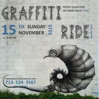 Bayou City Outdoors Graffiti Art & Bike Ride
