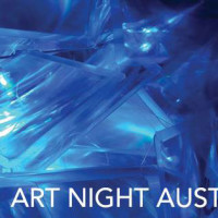 logo for Art Night Austin 2014
