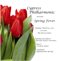 "Cypress Philharmonic presents ""Spring Fever"""