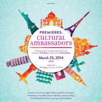 "Foundation for Modern Music Third Annual Premieres Concert series ""Cultural Ambassadors"""