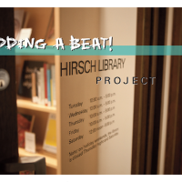 "Performance art: ""Adding a Beat: Hirsch Library Project"""