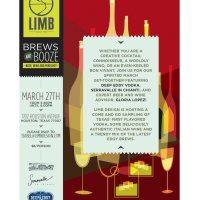 "Limb Design hosts ""Brews and Booze"""