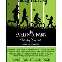 Family Fit Day at Evelyn's Park