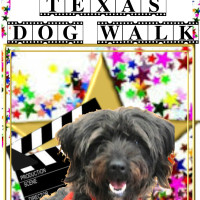 poster for 16th annual Mighty Texas Dog Walk