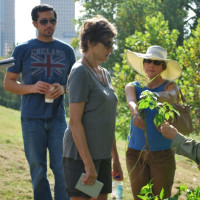 Buffalo Bayou Partnership hosts Prairie Tour along Buffalo Bayou