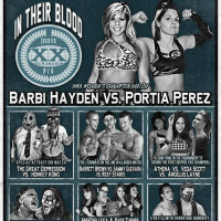 poster Inspire Pro wrestling In Their Blood show