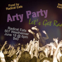 """The Arty Party"" benefiting Southwest Alternative Media Project"