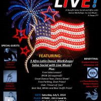 "FitMix and Strictly Street Salsa host ""Live: A benefit salsa social and Afro-Latin dance workshop to live music"""