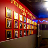 Funniest Person in Austin wall of fame at Cap City Comedy Club