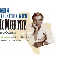 "Center for Houston's Future hosts ""Dinner and Conversation with Larry McMurtry and Diana Osanna"""