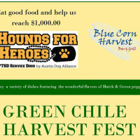 poster Green CHile Harvest Fest at Blue Corn Harvest