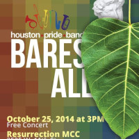 "Houston Pride Band presents ""Houston Pride Band Bares All"""