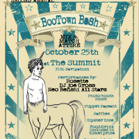 "BooTown's Second Annual Bash ""A celebration of all things wonderful and weird"""