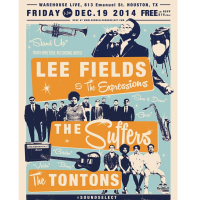 Red Bull Sound Select presents Lee Fields & The Expressions, The Tontons and The Suffers