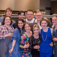 4 24 – Randy Evans, Aaron Robison, Joe Walsh, Chris Shepherd, Darrell Cass, Monica Pope, Danny Trace, Rebecca Masson, Lauren Strongin, Jessica Collado, Derith Cass, Melody Mennite at Raising the Barre April 2014