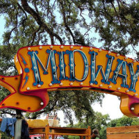 Midway Food Park in Austin