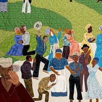 Juneteenth_quilt_Renee Allen_Bullock Museum_And Still We Rise_2012