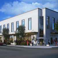 Dish Society Heights exterior rendering