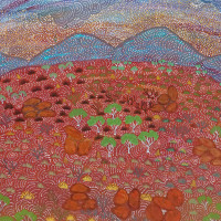 "Booker-Lowe Gallery presents ""The Call of Country"": New Paintings by Australian Artists of Ampilatwatja"