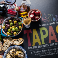 Houston Pride Band presents <i>Tapas</i> - a Modern Chamber Concert