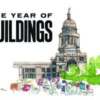 "Jessica Fontenot presents ""One Year of Buildings"""