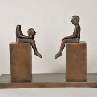 "Hooks-Epstein Galleries presents ""Richard Neidhardt (1921-2009): Past Revisited"" opening reception"