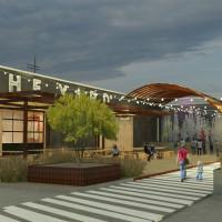 The Yard rendering